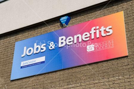 Job centre benefits office